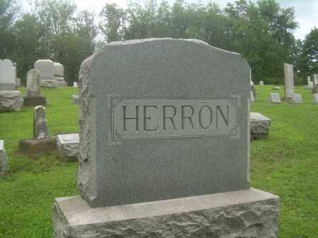 HERRON, FAMILY HEADSTONE - Harrison County, Ohio | FAMILY HEADSTONE HERRON - Ohio Gravestone Photos