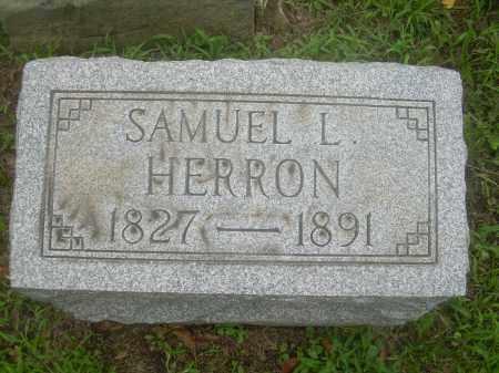 HERRON, SAMUEL L. - Harrison County, Ohio | SAMUEL L. HERRON - Ohio Gravestone Photos