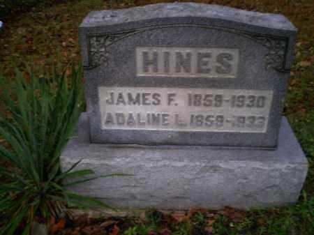 HINES, JAMES FRANKLIN - Harrison County, Ohio | JAMES FRANKLIN HINES - Ohio Gravestone Photos