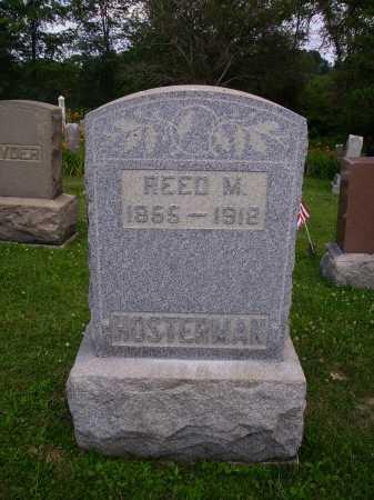 HOSTERMAN, REED MCNARY - Harrison County, Ohio | REED MCNARY HOSTERMAN - Ohio Gravestone Photos