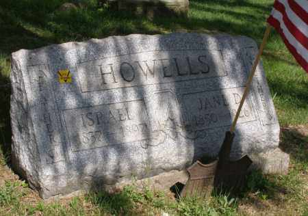 DUNLAP HOWELL, JANE - Harrison County, Ohio   JANE DUNLAP HOWELL - Ohio Gravestone Photos
