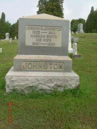 JOHNSTON, HANNAH - Harrison County, Ohio | HANNAH JOHNSTON - Ohio Gravestone Photos