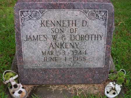 ANKENY, KENNETH D - Harrison County, Ohio   KENNETH D ANKENY - Ohio Gravestone Photos
