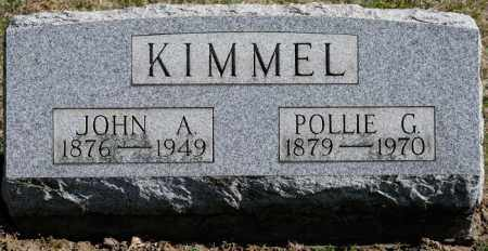 MILLER KIMMEL, POLLIE G - Harrison County, Ohio | POLLIE G MILLER KIMMEL - Ohio Gravestone Photos