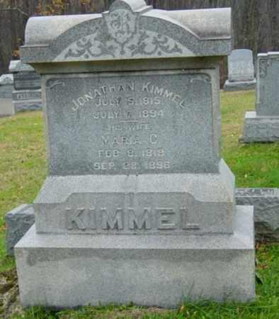 KIMMEL, JONATHAN - Harrison County, Ohio | JONATHAN KIMMEL - Ohio Gravestone Photos