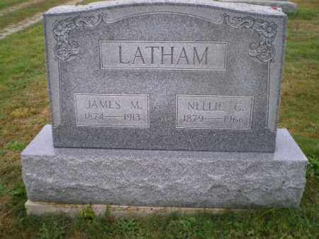 LATHAM, NELLIE G - Harrison County, Ohio | NELLIE G LATHAM - Ohio Gravestone Photos