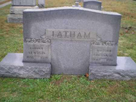 HEFLING LATHAM, LOUISA - Harrison County, Ohio | LOUISA HEFLING LATHAM - Ohio Gravestone Photos