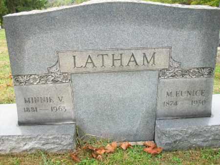 LAATHAM, M. EUNICE - Harrison County, Ohio   M. EUNICE LAATHAM - Ohio Gravestone Photos