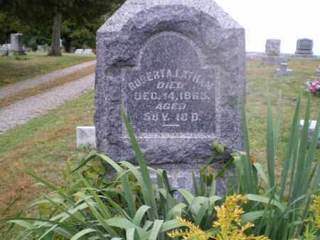 LATHAM, ROBERT A - Harrison County, Ohio   ROBERT A LATHAM - Ohio Gravestone Photos