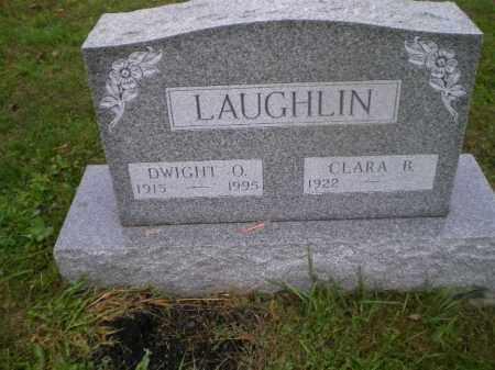 LAUGHLIN, DWIGHT O - Harrison County, Ohio | DWIGHT O LAUGHLIN - Ohio Gravestone Photos