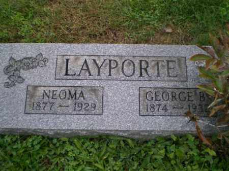 SEPTER LAYPORTE, NEOMA - Harrison County, Ohio | NEOMA SEPTER LAYPORTE - Ohio Gravestone Photos