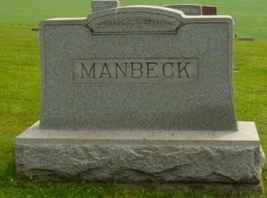 MANBECK, ELIZABETH C. - Harrison County, Ohio | ELIZABETH C. MANBECK - Ohio Gravestone Photos
