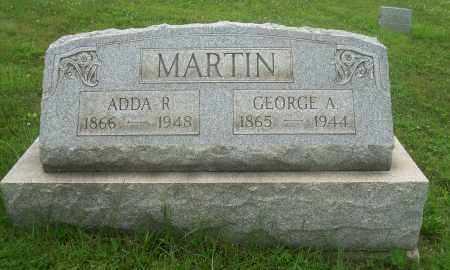 COLE MARTIN, ADDA R - Harrison County, Ohio | ADDA R COLE MARTIN - Ohio Gravestone Photos