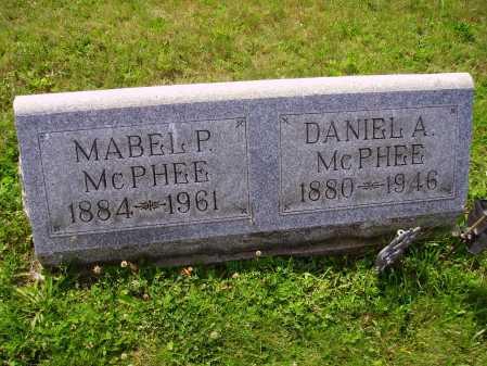 MC PHEE, DANIEL ALEXANDER - Harrison County, Ohio | DANIEL ALEXANDER MC PHEE - Ohio Gravestone Photos