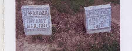 MCFADDEN, UNNAMED AND SAMUEL MORRISON - Harrison County, Ohio | UNNAMED AND SAMUEL MORRISON MCFADDEN - Ohio Gravestone Photos