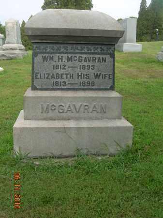 MCGAVRAN, WILLIAM H - Harrison County, Ohio   WILLIAM H MCGAVRAN - Ohio Gravestone Photos