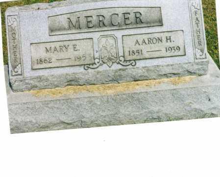 MERCER, MARY E. - Harrison County, Ohio | MARY E. MERCER - Ohio Gravestone Photos