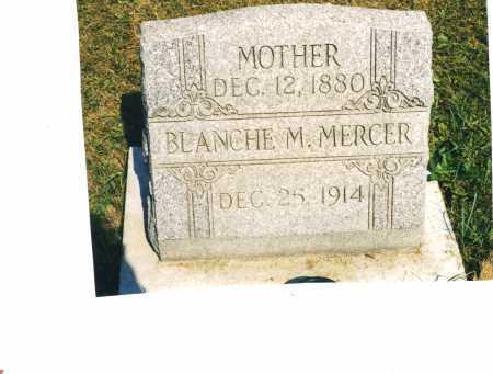 MERCER, BLANCHE - Harrison County, Ohio | BLANCHE MERCER - Ohio Gravestone Photos