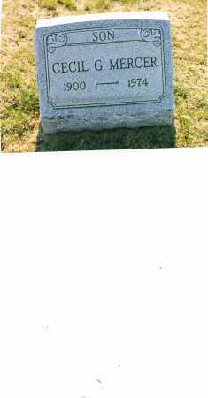 MERCER, CECIL GEORGIA - Harrison County, Ohio | CECIL GEORGIA MERCER - Ohio Gravestone Photos