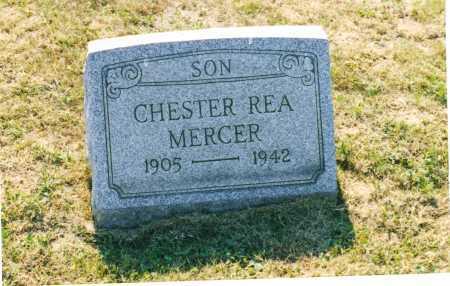 MERCER, CHESTER REA - Harrison County, Ohio | CHESTER REA MERCER - Ohio Gravestone Photos