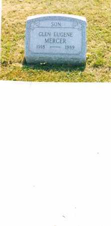 MERCER, GLEN EUGENE - Harrison County, Ohio   GLEN EUGENE MERCER - Ohio Gravestone Photos