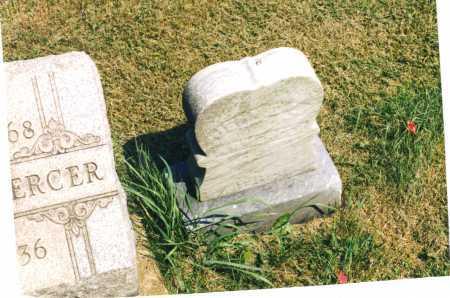 MILLHORN MERCER, JENNIE LIND - Harrison County, Ohio | JENNIE LIND MILLHORN MERCER - Ohio Gravestone Photos