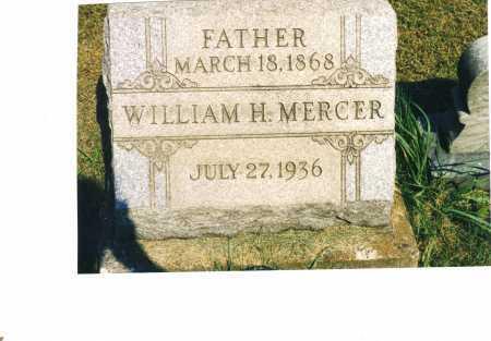 MERCER, WILLIAM H. - Harrison County, Ohio   WILLIAM H. MERCER - Ohio Gravestone Photos