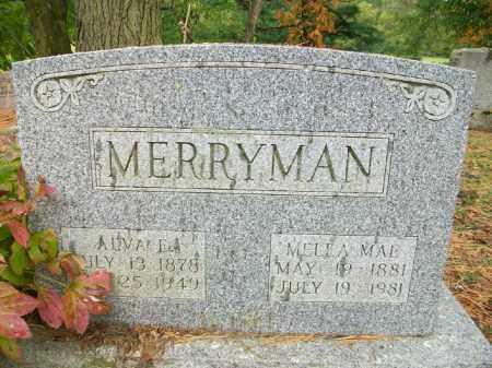 MERRYMAN, MELLA MAE - Harrison County, Ohio | MELLA MAE MERRYMAN - Ohio Gravestone Photos