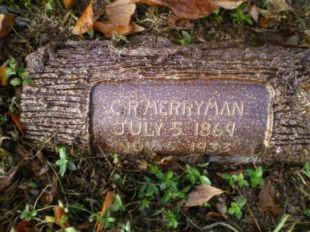 MERRYMAN, CHARLES ROBERT - Harrison County, Ohio   CHARLES ROBERT MERRYMAN - Ohio Gravestone Photos
