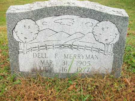 "MERRYMAN, DELBERT FRANK ""DELL"" - Harrison County, Ohio | DELBERT FRANK ""DELL"" MERRYMAN - Ohio Gravestone Photos"
