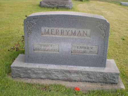 SINFIELD MERRYMAN, LAURA V - Harrison County, Ohio | LAURA V SINFIELD MERRYMAN - Ohio Gravestone Photos