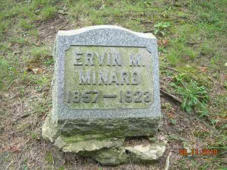 MINARD, ERVIN M - Harrison County, Ohio | ERVIN M MINARD - Ohio Gravestone Photos
