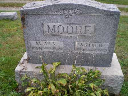 MOORE, ALBERT D - Harrison County, Ohio | ALBERT D MOORE - Ohio Gravestone Photos