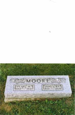 MOORE, PEARL - Harrison County, Ohio | PEARL MOORE - Ohio Gravestone Photos