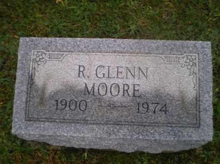 MOORE, R GLENN - Harrison County, Ohio   R GLENN MOORE - Ohio Gravestone Photos