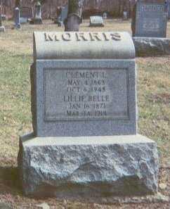 EDGAR MORRIS, LILLIE BELLE - Harrison County, Ohio | LILLIE BELLE EDGAR MORRIS - Ohio Gravestone Photos