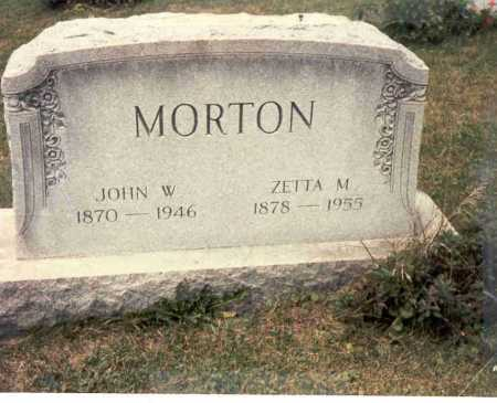 TOLAND MORTON, ZETTA M. - Harrison County, Ohio | ZETTA M. TOLAND MORTON - Ohio Gravestone Photos