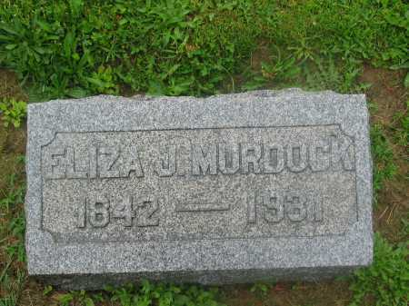 WEIR MURDOCK, ELIZA JANE - Harrison County, Ohio   ELIZA JANE WEIR MURDOCK - Ohio Gravestone Photos