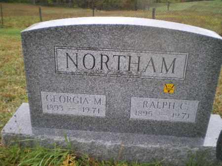 DUNLAP NORTHAM, GEORGIA M - Harrison County, Ohio | GEORGIA M DUNLAP NORTHAM - Ohio Gravestone Photos
