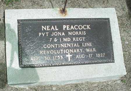 PEACOCK, NEAL - Harrison County, Ohio | NEAL PEACOCK - Ohio Gravestone Photos