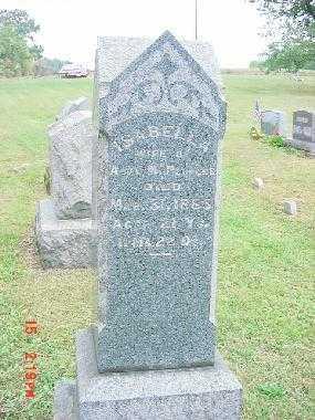PEOPLES, ISABELLA - Harrison County, Ohio   ISABELLA PEOPLES - Ohio Gravestone Photos