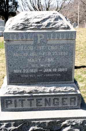 PITTENGER, JACOB - Harrison County, Ohio | JACOB PITTENGER - Ohio Gravestone Photos
