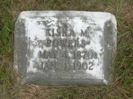BELL POWERS, KISKA M - Harrison County, Ohio | KISKA M BELL POWERS - Ohio Gravestone Photos