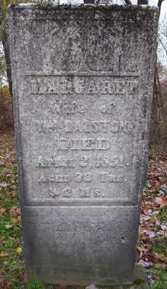 RALSTON, MARGARET - Harrison County, Ohio | MARGARET RALSTON - Ohio Gravestone Photos