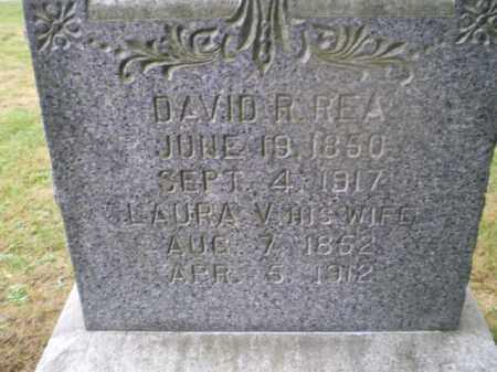REA, LAURA V - Harrison County, Ohio | LAURA V REA - Ohio Gravestone Photos