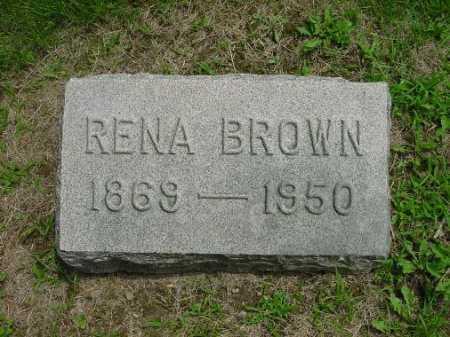 RENA, BROWN - Harrison County, Ohio | BROWN RENA - Ohio Gravestone Photos