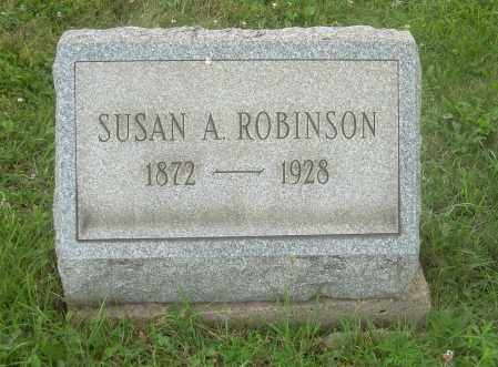 ROBINSON, SUSAN A - Harrison County, Ohio | SUSAN A ROBINSON - Ohio Gravestone Photos
