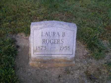 ROGERS, LAURA B - Harrison County, Ohio | LAURA B ROGERS - Ohio Gravestone Photos