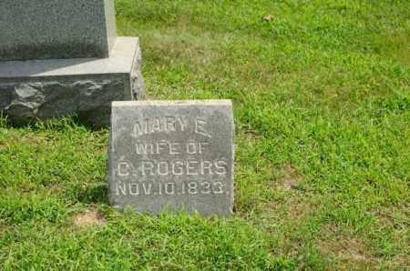 FINICAL ROGERS, MARY ELLEN - Harrison County, Ohio | MARY ELLEN FINICAL ROGERS - Ohio Gravestone Photos