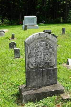 CARSON ROGERS, SUSANNAH - Harrison County, Ohio | SUSANNAH CARSON ROGERS - Ohio Gravestone Photos
